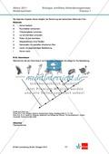 Abituraufgaben Niedersachsen eA-2011-I:Erschließen von evolutionsbiologischen Aspekten der Seerose.Mit Arbeitsmaterial und Lösungen. Preview 3