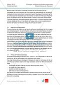 Abituraufgaben Niedersachsen 2012eA-I:Erschließen von stoffwechselbiologischen, evolutionsbiologischen, ökologischen und neurobiologischen Aspekten ausgewählter Wüstenorganismen.Mit Arbeitsmaterial und Lösungen. Preview 11