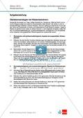 Abituraufgaben Niedersachsen 2012eA-I:Erschließen von stoffwechselbiologischen, evolutionsbiologischen, ökologischen und neurobiologischen Aspekten ausgewählter Wüstenorganismen.Mit Arbeitsmaterial und Lösungen. Preview 1