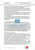 Abituraufgaben Niedersachsen 2012eA-I:Erschließen von stoffwechselbiologischen, evolutionsbiologischen, ökologischen und neurobiologischen Aspekten ausgewählter Wüstenorganismen.Mit Arbeitsmaterial und Lösungen. Preview 9