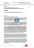 Abituraufgaben Niedersachsen 2012: Aufgaben und deren Musterlösungen zum Thema Tourismus und wirtschaftliche Entwicklung auf Rügen Preview 6