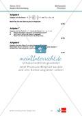 Abituraufgaben Baden-Württemberg 2012 - Mathematik Pflichtteil - 8 Aufgaben und deren Musterlösungen zu den Themen Analysis und Analytische Geometrie Preview 3