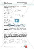 Abituraufgaben Baden-Württemberg 2012 - Mathematik Pflichtteil - 8 Aufgaben und deren Musterlösungen zu den Themen Analysis und Analytische Geometrie Preview 5