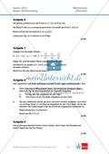 Abituraufgaben Baden-Württemberg 2013 - Mathematik Pflichtteil - 9 Aufgaben und deren Musterlösungen zu den Themen Analysis und Analytische Geometrie Preview 2