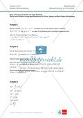 Abituraufgaben Baden-Württemberg 2013 - Mathematik Pflichtteil - 9 Aufgaben und deren Musterlösungen zu den Themen Analysis und Analytische Geometrie Preview 3