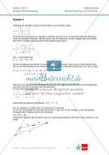 Abituraufgaben Baden-Württemberg 2013 - Mathematik Pflichtteil - 9 Aufgaben und deren Musterlösungen zu den Themen Analysis und Analytische Geometrie Preview 6