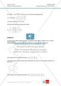 Abituraufgaben Baden-Württemberg 2013 - Mathematik Pflichtteil - 9 Aufgaben und deren Musterlösungen zu den Themen Analysis und Analytische Geometrie Preview 8