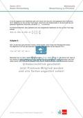 Abituraufgaben Baden-Württemberg 2013 - Mathematik Pflichtteil - 9 Aufgaben und deren Musterlösungen zu den Themen Analysis und Analytische Geometrie Preview 9