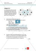 Abituraufgaben Baden-Württemberg 2013 - Mathematik Wahlteil II - 4 Aufgaben und deren Musterlösungen zu den Themen Geometrie und Stochastik Preview 2