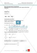 Abituraufgaben Baden-Württemberg 2013 - Mathematik Wahlteil II - 4 Aufgaben und deren Musterlösungen zu den Themen Geometrie und Stochastik Preview 3