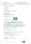 Abituraufgaben Baden-Württemberg 2013 - Mathematik Wahlteil II - 4 Aufgaben und deren Musterlösungen zu den Themen Geometrie und Stochastik Preview 4