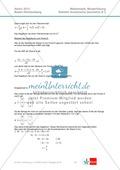 Abituraufgaben Baden-Württemberg 2013 - Mathematik Wahlteil II - 4 Aufgaben und deren Musterlösungen zu den Themen Geometrie und Stochastik Preview 5
