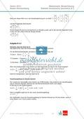 Abituraufgaben Baden-Württemberg 2013 - Mathematik Wahlteil II - 4 Aufgaben und deren Musterlösungen zu den Themen Geometrie und Stochastik Preview 6