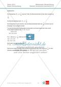 Abituraufgaben Baden-Württemberg 2013 - Mathematik Wahlteil II - 4 Aufgaben und deren Musterlösungen zu den Themen Geometrie und Stochastik Preview 7
