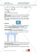 Abituraufgaben Baden-Württemberg 2009 - Mathematik Wahlteil I - 4 Aufgaben und deren Musterlösungen zum Thema Analysis. Preview 4