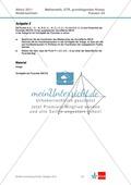 Abituraufgaben Niedersachsen 2011 - Mathematikaufgaben (2A) und deren Musterlösungen zu den Themen Stochastik und Analytische Geometrie auf grundlegendem Niveau. Preview 2