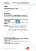 Abituraufgaben Niedersachsen 2011 - Mathematikaufgaben (2A) und deren Musterlösungen zu den Themen Stochastik und Analytische Geometrie auf grundlegendem Niveau. Preview 3
