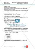 Abituraufgaben Niedersachsen 2011 - Mathematikaufgaben (2A) und deren Musterlösungen zu den Themen Stochastik und Analytische Geometrie auf grundlegendem Niveau. Preview 4