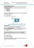 Abituraufgaben Niedersachsen 2011 - Mathematikaufgaben (2A) und deren Musterlösungen zu den Themen Stochastik und Analytische Geometrie auf grundlegendem Niveau. Preview 5