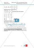 Abituraufgaben Niedersachsen 2011 - Mathematikaufgaben (2A) und deren Musterlösungen zu den Themen Stochastik und Analytische Geometrie auf grundlegendem Niveau. Preview 8