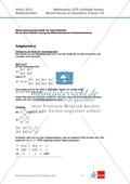 Abituraufgaben Niedersachsen 2012 - Mathematikaufgaben (3A) und deren Musterlösungen zum Thema Geometrie auf erhöhtem Niveau Preview 3