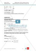 Abituraufgaben Niedersachsen 2012 - Mathematikaufgaben (3A) und deren Musterlösungen zum Thema Geometrie auf erhöhtem Niveau Preview 4