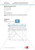 Abituraufgaben Niedersachsen 2012 - Mathematikaufgaben (3A) und deren Musterlösungen zum Thema Geometrie auf erhöhtem Niveau Preview 5