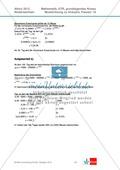 Abituraufgaben Niedersachsen 2012 - Mathematikaufgaben (1A) und deren Musterlösungen zum Thema Analysis auf grundlegendem Niveau Preview 4