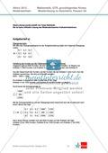 Abituraufgaben Niedersachsen 2012 - Mathematikaufgaben (3A) und deren Musterlösungen zum Thema Geometrie auf grundlegendem Niveau Preview 2