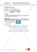 Abituraufgaben Niedersachsen 2012 - Mathematikaufgaben (3A) und deren Musterlösungen zum Thema Geometrie auf grundlegendem Niveau Preview 4