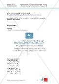 Abituraufgaben Niedersachsen 2012 - Mathematikaufgaben (3B) und deren Musterlösungen zum Thema Geometrie auf grundlegendem Niveau Preview 2
