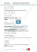 Abituraufgaben Niedersachsen 2012 - Mathematikaufgaben (3B) und deren Musterlösungen zum Thema Geometrie auf grundlegendem Niveau Preview 4