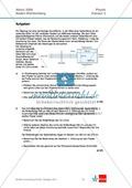 Abituraufgaben Baden-Württemberg 2009 Klausur III: Licht + Musterlösungen zu allen Aufgabenteilen Preview 1