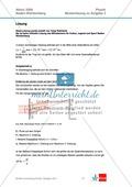 Abituraufgaben Baden-Württemberg 2009 Klausur III: Licht + Musterlösungen zu allen Aufgabenteilen Preview 3