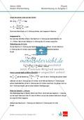 Abituraufgaben Baden-Württemberg 2009 Klausur III: Licht + Musterlösungen zu allen Aufgabenteilen Preview 5
