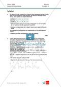Abituraufgaben Baden-Württemberg 2009 Klausur II: Magnetismus + Musterlösungen zu den einzelnen Aufgabenteilen Preview 1