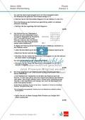 Abituraufgaben Baden-Württemberg 2009 Klausur II: Magnetismus + Musterlösungen zu den einzelnen Aufgabenteilen Preview 2