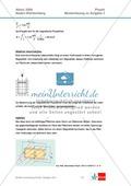 Abituraufgaben Baden-Württemberg 2009 Klausur II: Magnetismus + Musterlösungen zu den einzelnen Aufgabenteilen Preview 4