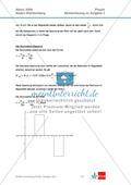 Abituraufgaben Baden-Württemberg 2009 Klausur II: Magnetismus + Musterlösungen zu den einzelnen Aufgabenteilen Preview 6