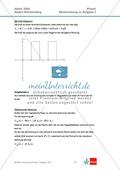 Abituraufgaben Baden-Württemberg 2009 Klausur II: Magnetismus + Musterlösungen zu den einzelnen Aufgabenteilen Preview 7