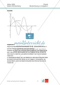 Abituraufgaben Baden-Württemberg 2009 Klausur II: Magnetismus + Musterlösungen zu den einzelnen Aufgabenteilen Preview 9