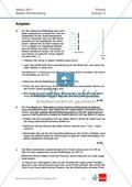 Abuturaufgaben Baden-Württemberg 2011 Klausur II: Licht + Lösungen zu den einzelnen Aufgabenteilen Preview 1