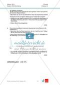 Abuturaufgaben Baden-Württemberg 2011 Klausur II: Licht + Lösungen zu den einzelnen Aufgabenteilen Preview 2