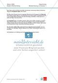 Abituraufgaben Baden-Württemberg 2009: Nationalsozialismus-Quelleninterpretation, Darstellung und Erörterung zu den Entwicklungslinien vom Kaiserreich zum Nationalsozialismus, der Rolle der SPD und dem Machtgewinn Hitlers. Mit Quellen und Musterlösungen. Preview 10