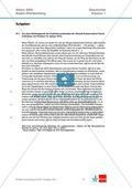 Abituraufgaben Baden-Württemberg 2009: Nationalsozialismus-Quelleninterpretation, Darstellung und Erörterung zu den Entwicklungslinien vom Kaiserreich zum Nationalsozialismus, der Rolle der SPD und dem Machtgewinn Hitlers. Mit Quellen und Musterlösungen. Preview 1