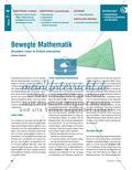 Mathematik, Geometrie, Mittelsenkrechte, Winkelsenkrechte, dreiecke, entdeckendes lernen