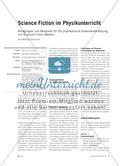 Science Fiction im Physikunterricht - Anregungen und Beispiele für die physikalische Auseinandersetzung mit Science-Fiction-Medien Preview 1