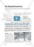 Das Superpositionsprinzip - Eine Einführung unter Einsatz von dynamischer Geometriesoftware Preview 1
