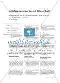 Interferenzversuche mit Ultraschall - Demonstrations- und Schülerexperimente mit einer einfachen und preisgünstigen Apparatur Preview 1