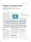 Analogien zum Verstehen nutzen - Analoge Behandlung von mechanischen und elektrischen Schwingungen mit einem Energieansatz Preview 1